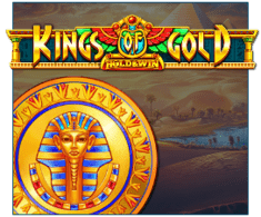 machine a sous Kings of Gold logiciel iSoftBet