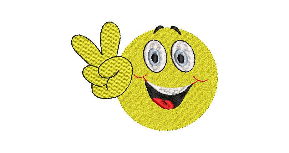 BRODERIE SMILEY 5