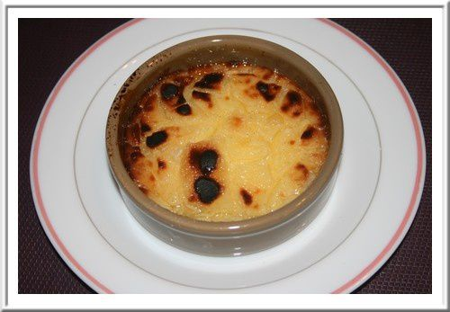 CREME BRULEE legere (cuisson VAROMA)