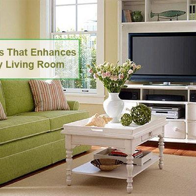 Top 3 Furniture's That Enhances Beauty of Any Living Room