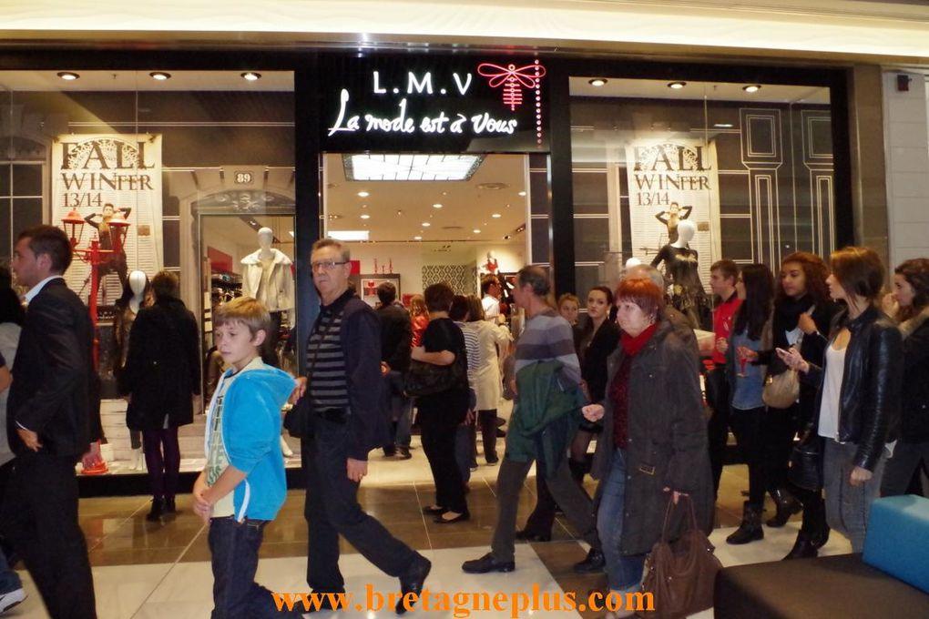 Evénement à Rennes, ce mercredi 23 octobre 2013. Ouverture et inaugutation du nouveau centre commercial Alma Rennes