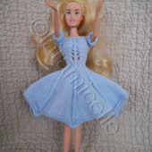 tuto gratuit barbie, robe corsetée - laramicelle
