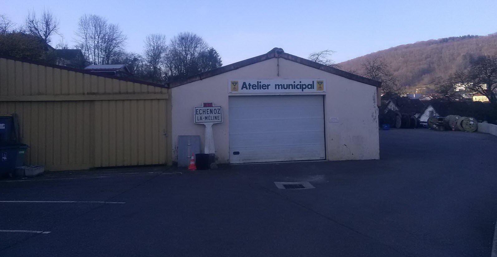 Le parking des ateliers municipaux et celui de la mairie bientôt sous vidéo protection.  Photo ER