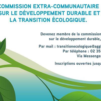 Commission sur le développement durable et la transition écologique