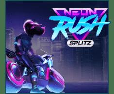 machine a sous en ligne Neon Rush Splitz logiciel Yggdrasil