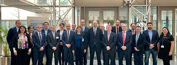 ENAIRE and DSNA meet with EUROCONTROL in Barcelona to consolidate their airspace management