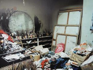 Atelier de Francis Bacon.