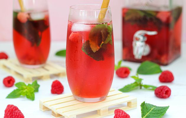 THE GLACE FRAMBOISE MENTHE