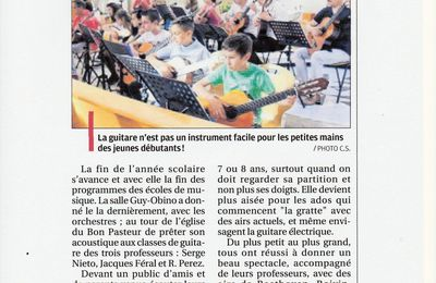 Concert des Classes de Guitares