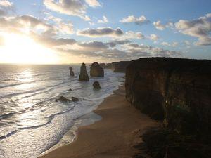 Sur la great ocean road ; les 12 apôtres