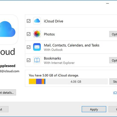 How to manage iCloud space on the Apple device?