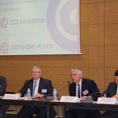 Claude Barbin:Election Chambre de Commerce du Puy de Dome et Chambre de Commerce Auvergne Rhone Alpes  Mandature 2017 2022