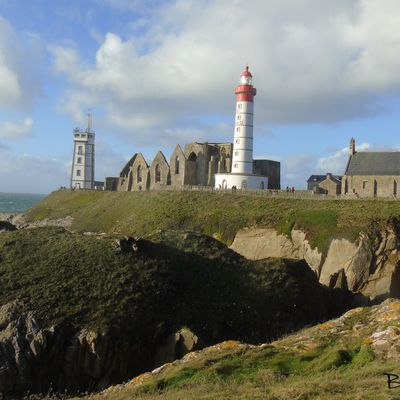 Le phare de la pointe St-Mathieu..
