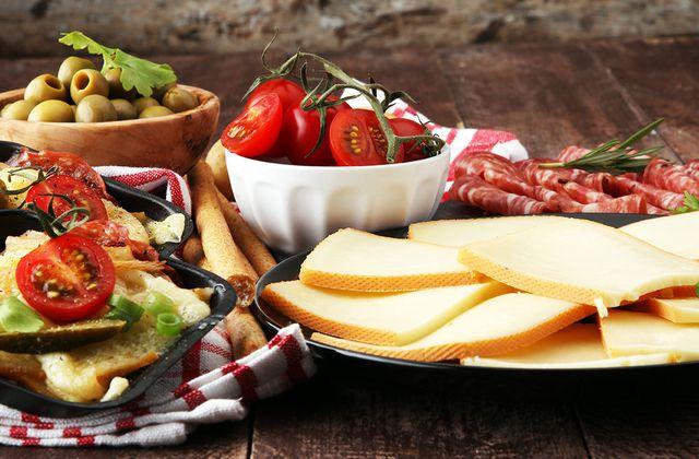 Les fromages consommés chauds