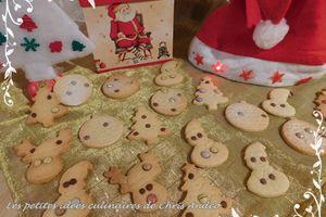 Biscuits aux épices de Noël