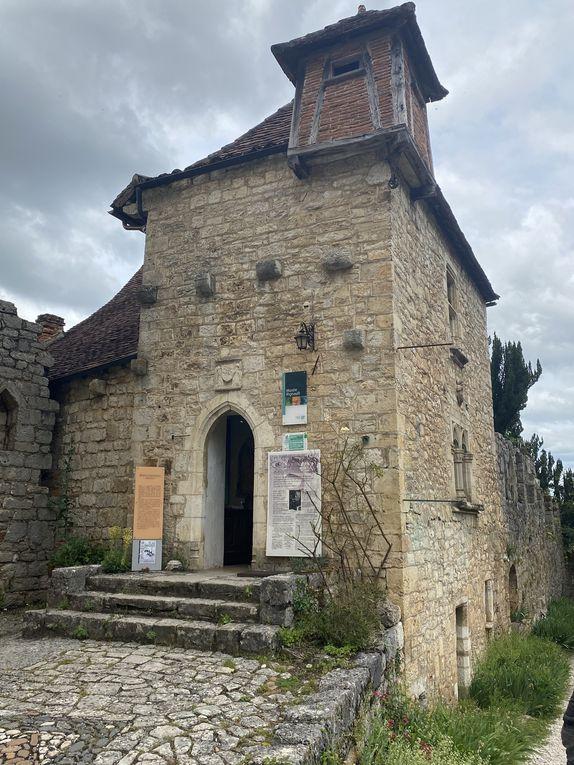 Étape 8 - Cabrerets / St Cirq Lapopie en photos