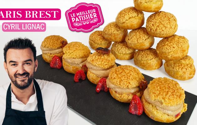 Le Meilleur Pâtissier Ep2 : Le Paris Brest Revisitée de Cyril Lignac !