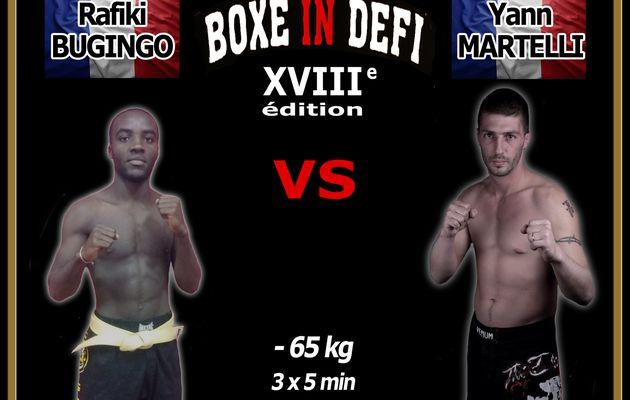 Boxe In Defi XVIII - Combat n°1
