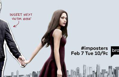 Imposters (Saison 1, 10 épisodes) : arnaqueuse de coeur