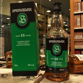 Springbank 15Y 'New Label' - Passion du Whisky