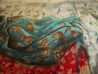 Huile et technique mixte sur toile, 73 x 92 cm