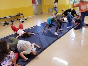 ME Crins : Ateliers gym et step