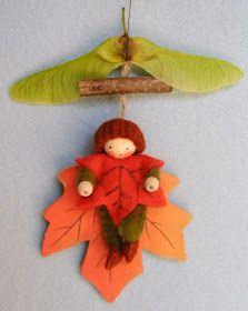 Idées décorations feutrine pour Noël
