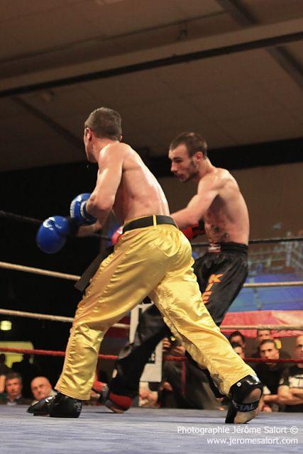 Boxe in défi XIII Titre de champion d'Europe des -65Kg (10x2) Bertrand FLEURET vs Miroljub NEDELJKOVIC