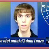 """Astrologie : """"La pulsion meurtrière inscrite dans le ciel natal d'Adam Lanza"""" par Yanis."""