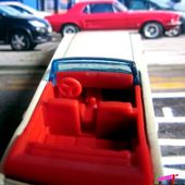 65 MUSTANG CONVERTIBLE HOT WHEELS 1/64 - FORD MUSTANG CABRIOLET 1965. - car-collector.net