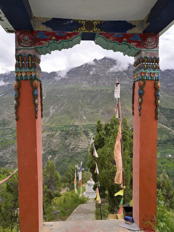 Le monastère de Shashur Gompa