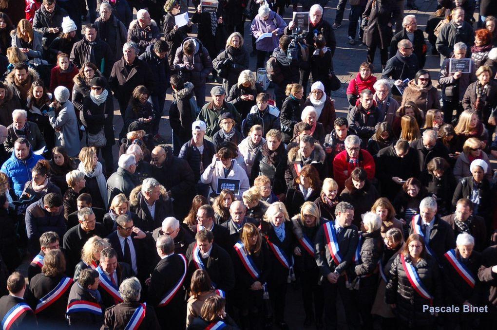 Album - 2015/01/08: Ceremonie d'hommage aux victimes de Charlie Hebdo