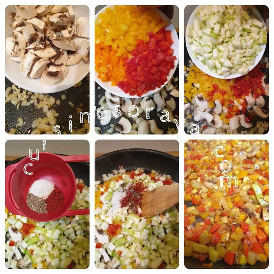 Escalopes de poulet gratinée avec sa sauce crémeuse aux légumes