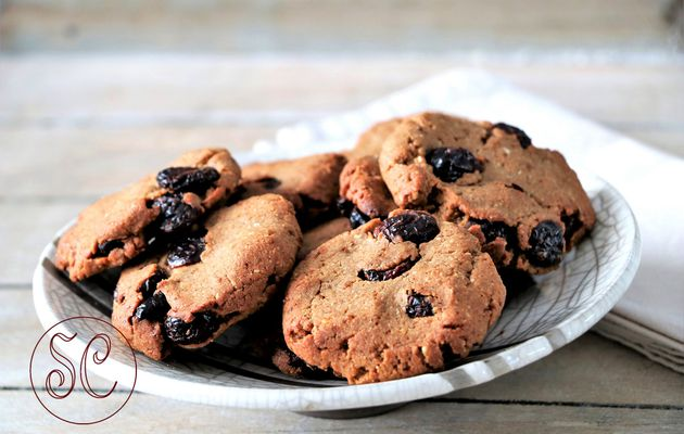 Cookies aux canneberges