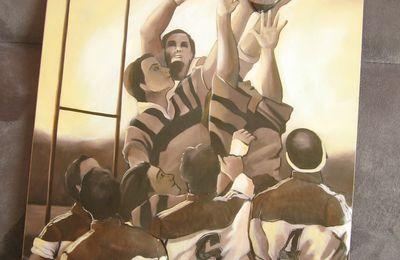 Cadre 3D de rugby