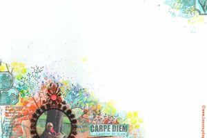 Carpe Diem_DT Scrap&Co_Défi Inspiration