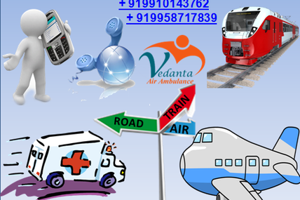 Comfortable, Smooth, and fastest Service provider at Genuine Price by Vedanta Air Ambulance Service in Guwahati to Delhi