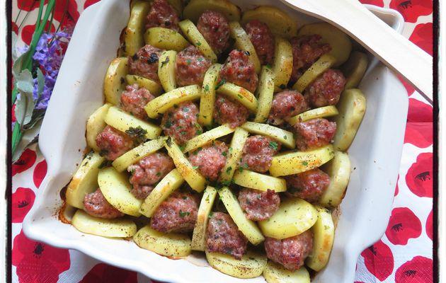Pommes de terre farcies revisitées