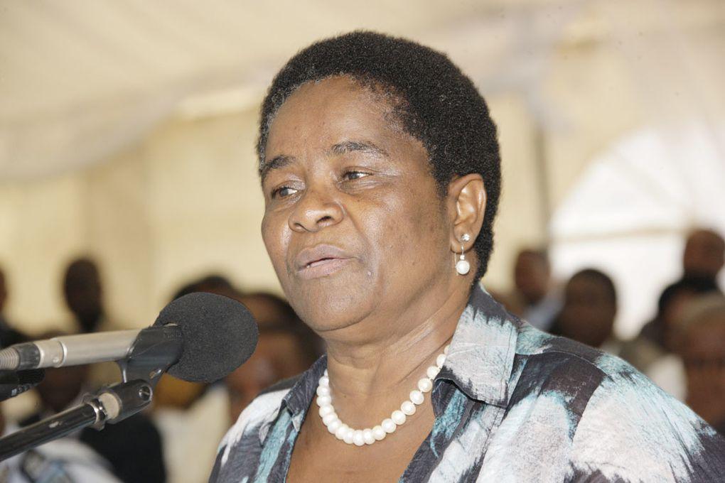 La canciller de Botswana candidata a presidir la Comisión de la Unión Africana.