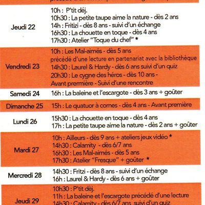 Octobre 2020 : graines d'images junior à Montval-sur-Loir