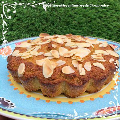Gâteau aux amandes de Thibault Geoffrey