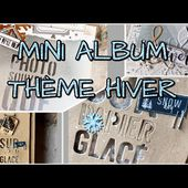 SCRAP | MINI ALBUM KRAFT THEME HIVER