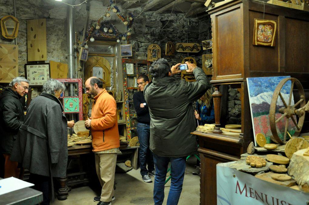 Tranche de visite de l'atelier (2 photos)