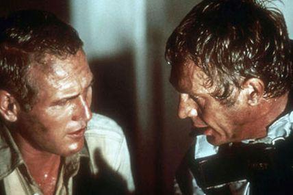 La tour infernale, Paul Newman et Steve McQueen face aux flammes