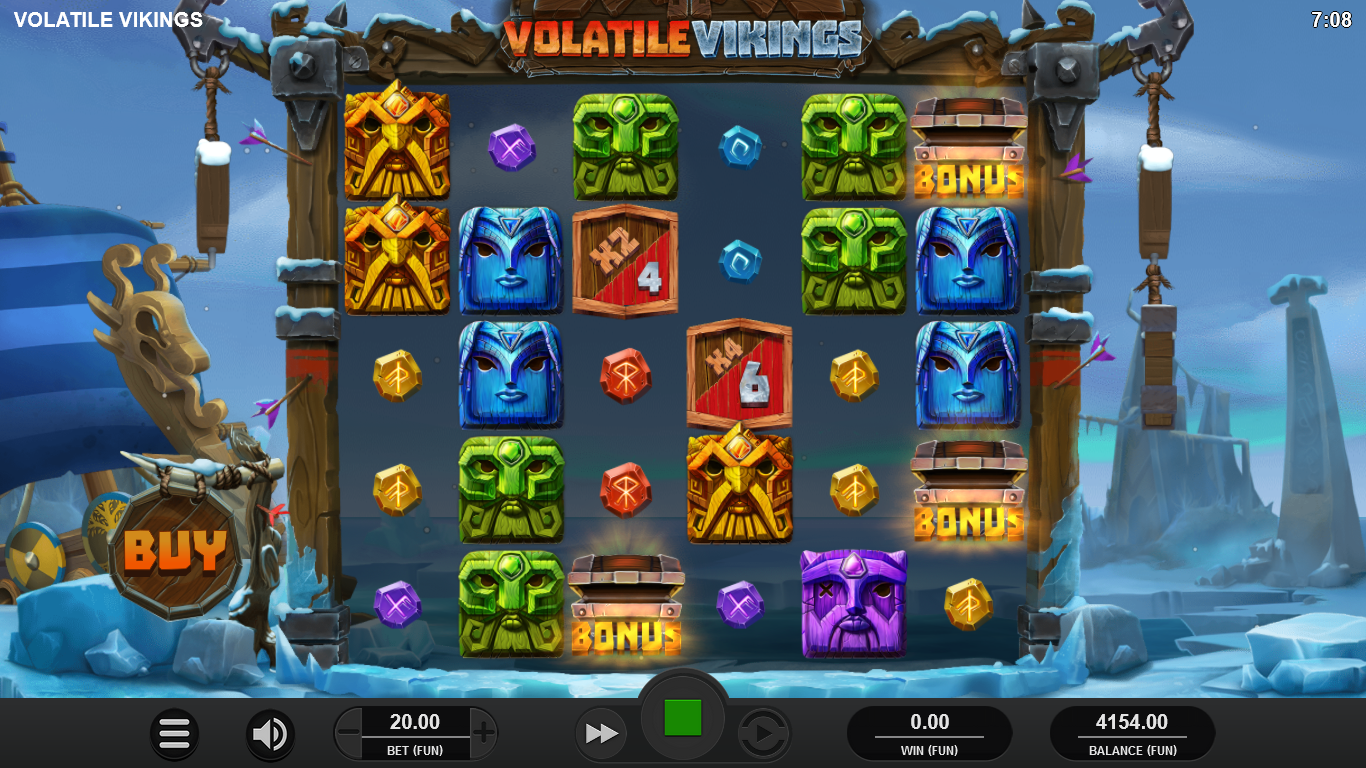 machine à sous en ligne Volatile Vikings jeu bonus