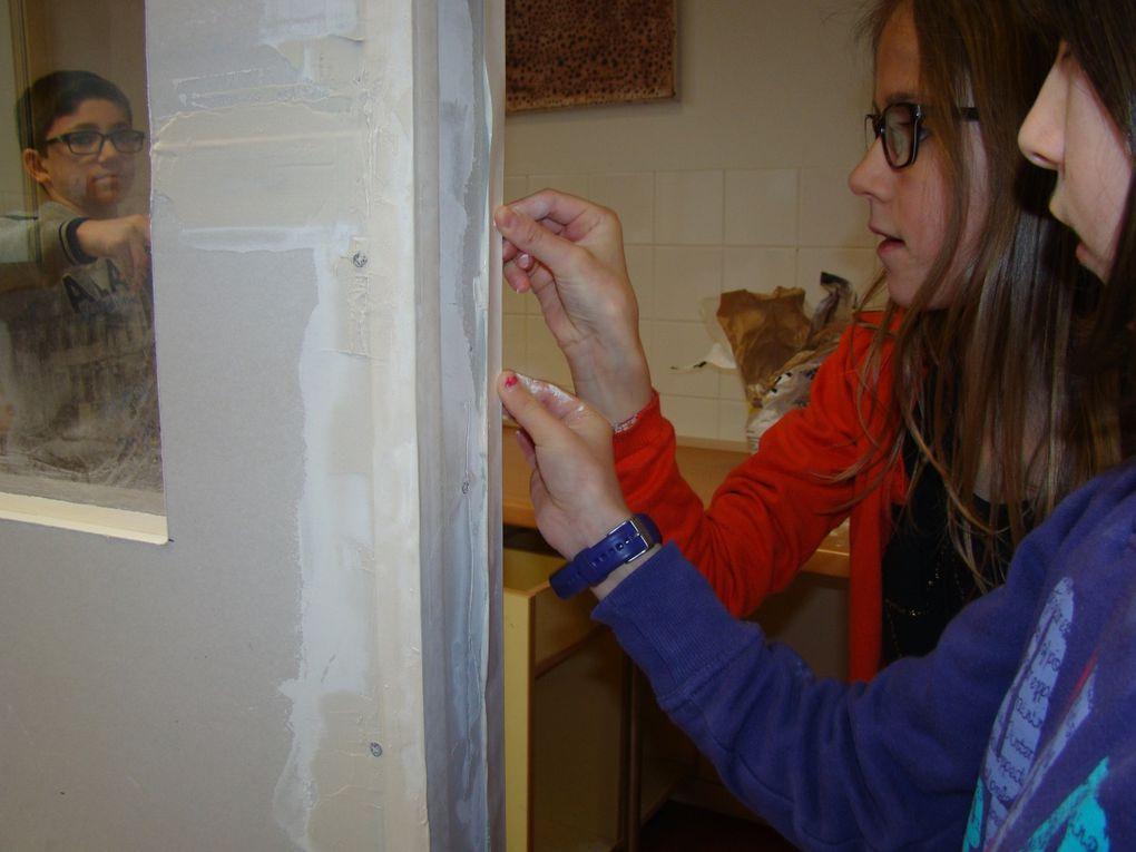 Photos prises par les élèves tout au long du projet.