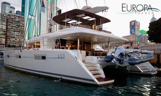 A new Lagoon 620 delivered in the Philippines