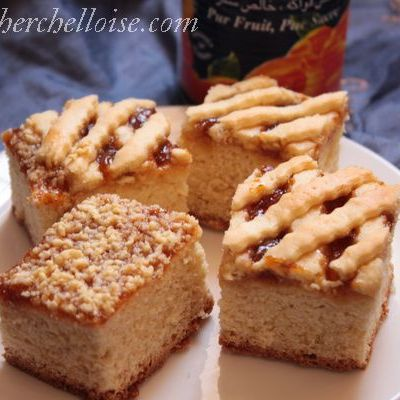 Gâteau à la confiture « gâteau algérien facile