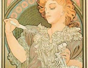 Alfons Mucha     /    Pub Dior .....