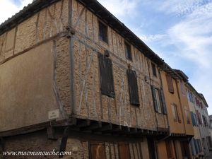 D'autres maisons à pans de bois,  vues au cours de notre visite.